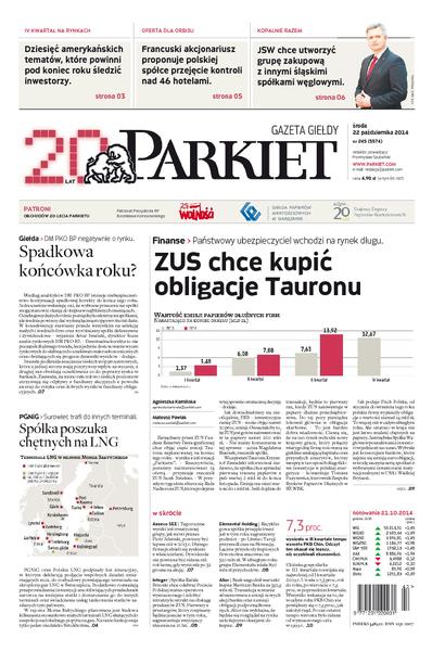 Parkiet - Gazeta Giełdy