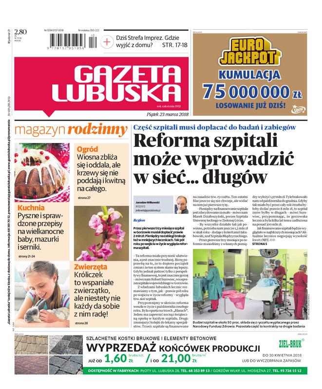 E Kioskpl Gazeta Lubuska D Gorzów Wielkopolski 2303